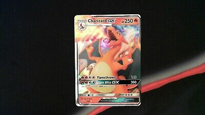 Pokemon 9/68 NM Charizard GX Ultra Rare Hidden Fates Set Pack Fresh DMZ