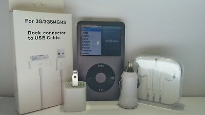 Apple iPod Classic 5, 6, & 7th Generation 30GB, 60GB, 80GB, 120GB, 160GB