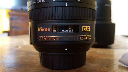 Nikkor DX 10-24mm f3.5-5.4 West End Brisbane South West Preview