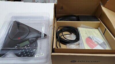 Polycom Soundstation 2 2201-16000-601 Conference Phone Refurbished Tested