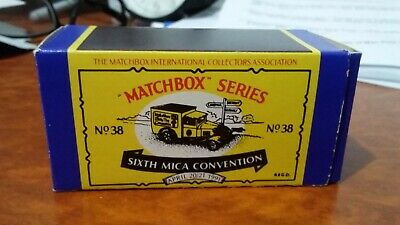 Matchbox MB38 MICA 6th UK Convention Ford Model A Van