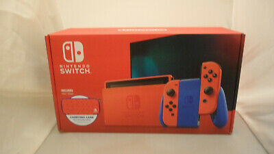 Nintendo Switch Console Mario Red & Blue Edition - 32GB