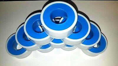 10 Rolls Teflon Plumbing Thread Seal Tape 12 X 520 Brand New