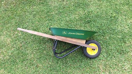 John Deere kids wheelbarrow