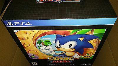 Ps4 Sonic Mania Collectors Edition Sega Genesis Hedgehog 12 Statue Playstation 4