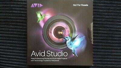 Avid Studio Video Editing Software, New/Unopened, 2011, usado segunda mano  Embacar hacia Mexico