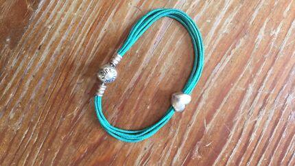 Pandora bracelet and charm - genuine