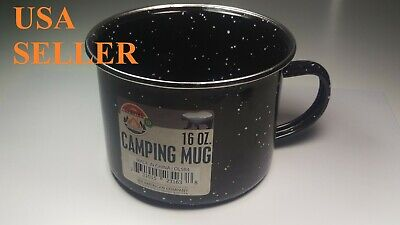 Lot Of  6pc Stainless Steel Coffee Soup Mug Tumbler Camping Mug Cup 16oz