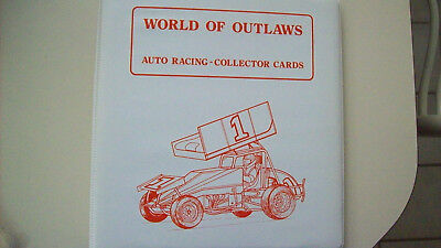 World Of Outlaws Binders for Your Card Sets