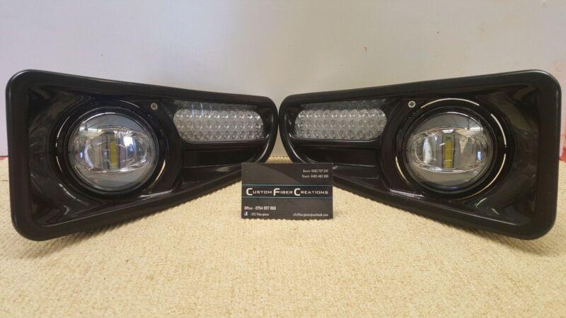 Arb bullbar fibreglass light shrouds ledlight indicators other 1 of 8 aloadofball Image collections