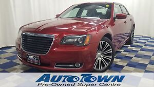 2013 Chrysler 300 S/LEATHER/HTD SEATS/PANO SUNROOF/U CONNECT