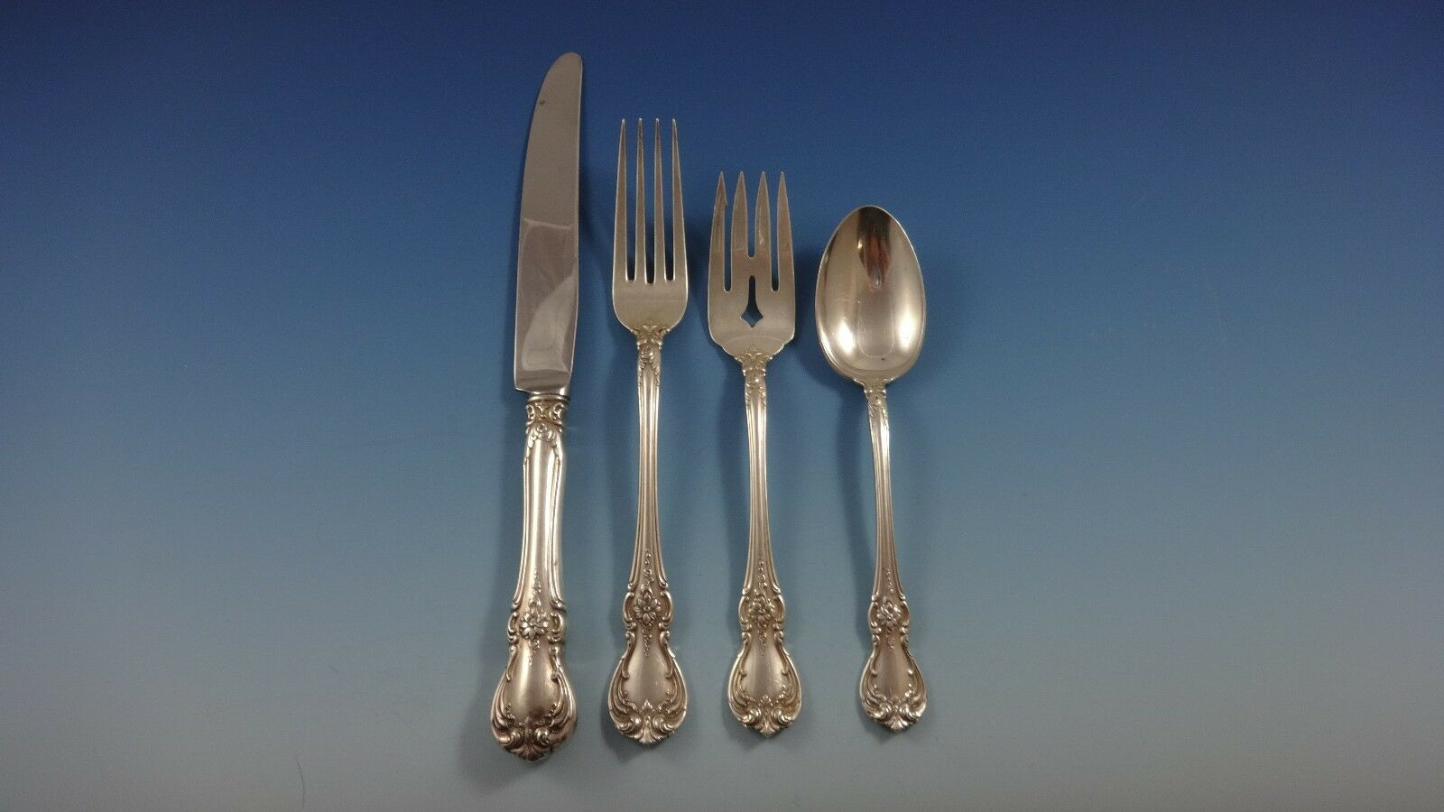 Old Master by Towle Sterling Silver Flatware Set For 8 ...