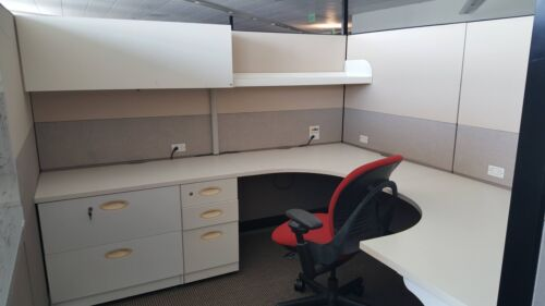 Used Office Cubicles, Steelcase Answer 8x8 Cubicles