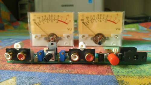 DIY KIT Analog VU meter (NO METERS)