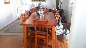 9 Piece Family Dinning Table & Chairs Berkeley Vale Wyong Area Preview