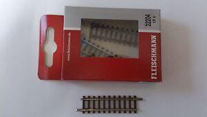 * 1 x Fleischmann 22204 Straight Track Length 54.2mm Section N Gauge - <span itemprop='availableAtOrFrom'>Wroclaw, Polska</span> - Zwroty są przyjmowane - Wroclaw, Polska