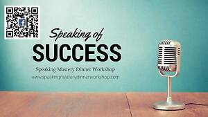 SPEAKING MASTERY WORKSHOP- DINNER Derrimut Brimbank Area Preview