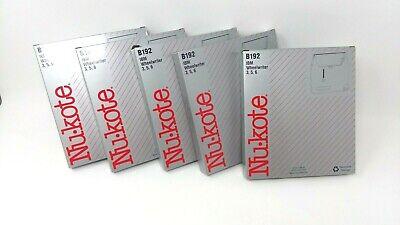 Lot Of 5 Nukote Ibm Wheelwriter 356 B192 Typewriter Ribbons New New Old Stock