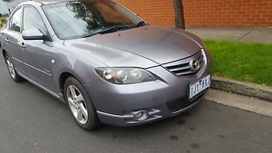2004 mazda 3 sp23 automatic selling with rwc Essendon Moonee Valley Preview