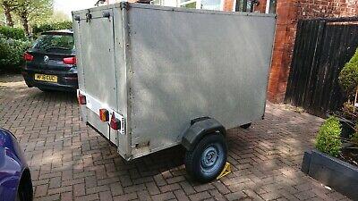 6x4x4 box trailer