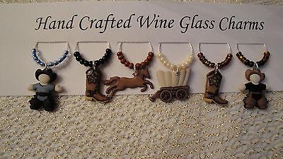 """Подвески Wine Glass """"WESTERN, COWBOY"""" SET"""