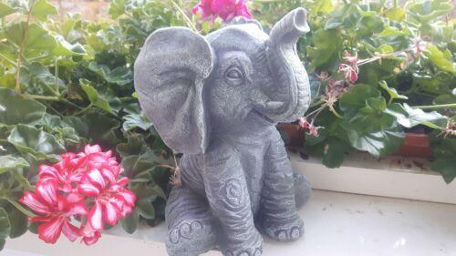 Deko Figur Elefant Dekoration Neu Garten Geschenk Afrika