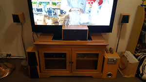 Tv unit and surround sound system Beenleigh Logan Area Preview
