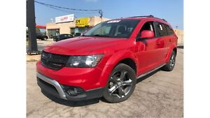 2014 Dodge Journey Crossroad DVD HEATED MIRRORS TRAILER HITCH