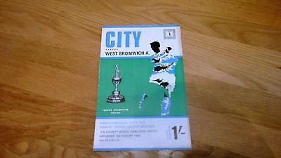 1968 Manchester City v WBA - Charity Shield