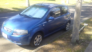 Holden barina 2008 - blue color Brunswick East Moreland Area Preview