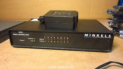 MINKELS RMS MRM0010 Rack Monitoring System - 8 PORTS - INCL PSU