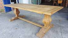 NEW FRENCH INDUSTRIAL RECYCLED VINTAGE TIMBER DINING TABLE Chipping Norton Liverpool Area Preview