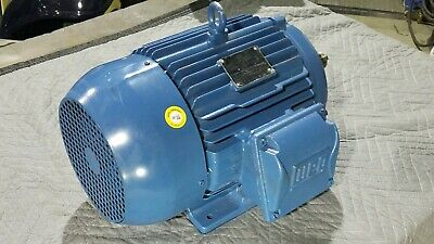 Weg Electric Motor 10hp 230460v 3phs W22 Nema Premium 01018et3e215t