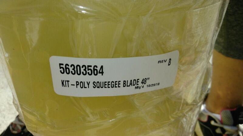 NEW Nilfisk 56303564 - Genuine OEM Polyuret Squeegee Blade 48