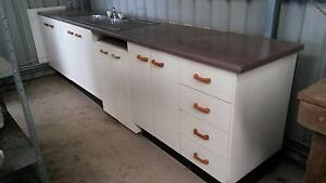 Kitchen bench and cupboard unit Landsborough Caloundra Area Preview