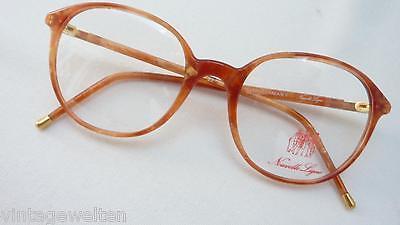 Pantobrille Brillenfassung Kunststoff Acetat braun hawanna Neu Unisex size M