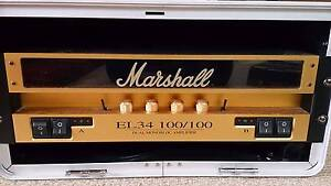 Marshall EL34 100W Rack Valve Dual Channel Power Guitar Amplifier Manly Manly Area Preview