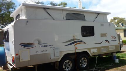 JAYCO DISCOVERY OUTBACK OFF ROAD TOILET and SHOWER Bellevue Heights Mitcham Area Preview