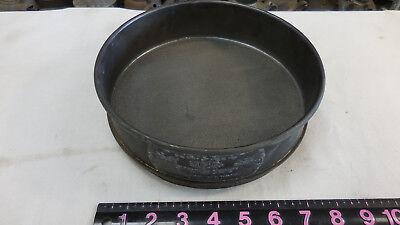 No. 40 Tyler --usa Standard Testing Sieve 8 Brass Frame