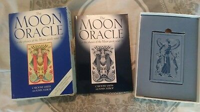 RARE*HTF*THE MOON ORACLE cards and book Set