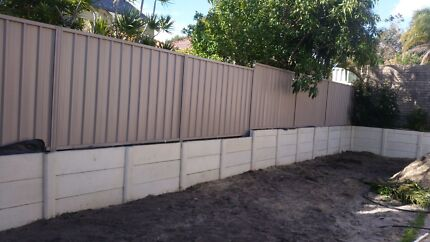 Retaining Walls Post and Panel
