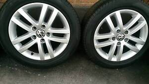 "16"" VW Wheels and Tyres 205/55R16 Dandenong South Greater Dandenong Preview"