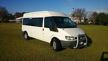 VGC Ford Transit 12 Seat Mini Bus Van Auto with Luggage Racks A/C Bayswater Bayswater Area Preview