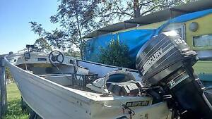 13ft Aluminium stacer boat & trailer Gympie Gympie Area Preview