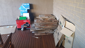 Packing boxes Henley Beach Charles Sturt Area Preview