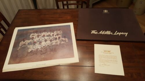 """""""The Miller Legacy"""" Miller Brewery anniversary prints"""
