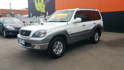 2005 Hyundai Terracan Highlander 7 Seat, manual from $61 week TAP Braybrook Maribyrnong Area Preview