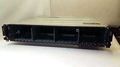 """Dell MD1420 24x2.5"""" Bays, 2x 12G-SAS-4 EMM E09M E09M004 controllers, 2x PSU-QTY_"""