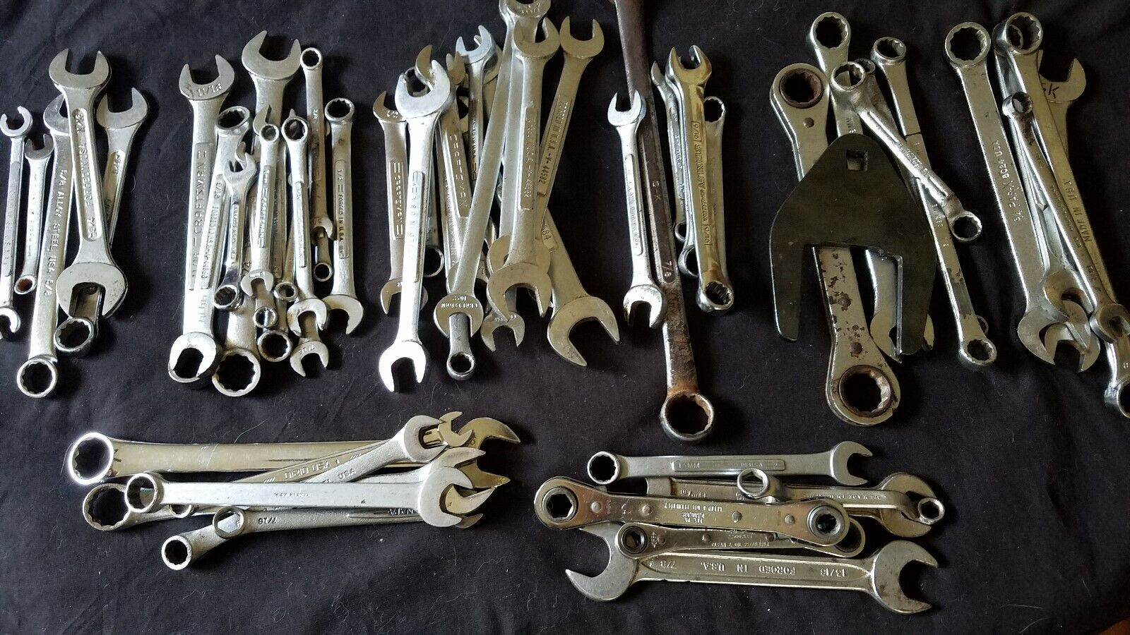 Used USA Made Wrenches Blackhawk Craftsman S&K others  Pick & Choose