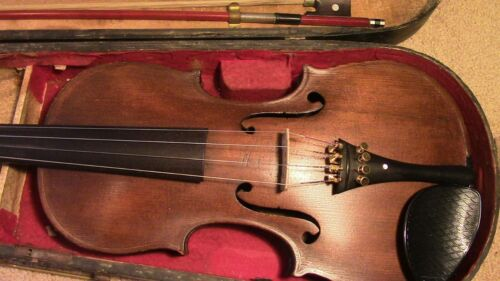 Violin 4/4 Fiddle old Antique Vintage used